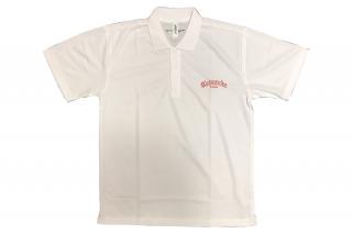 【アウトレット】半袖ドライポロシャツ【ホワイト】サイズ:L
