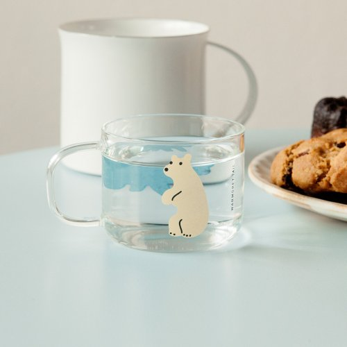 ROLLING BEARS mini cup | WARMGREY TAIL