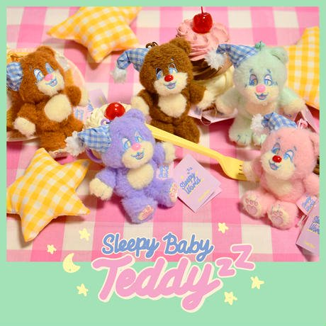<img class='new_mark_img1' src='https://img.shop-pro.jp/img/new/icons9.gif' style='border:none;display:inline;margin:0px;padding:0px;width:auto;' />[Sleepy World] Baby TeddyzZ|NEONMOON(ネオンムーン)