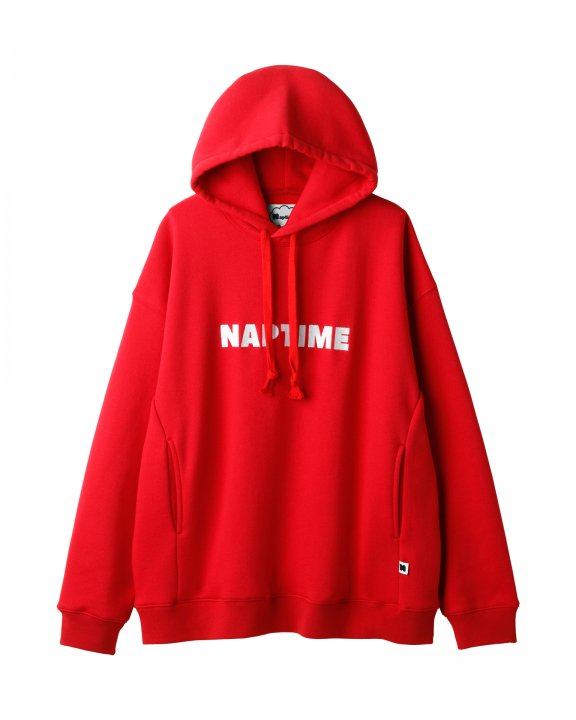 SWEAT PARKA-RED