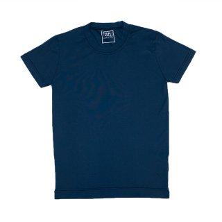 giza cotton t-shirt BLUE