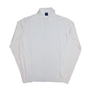 giza cotton knit polo WHITE