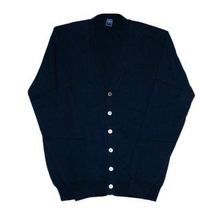 giza cotton cardigan NAVY