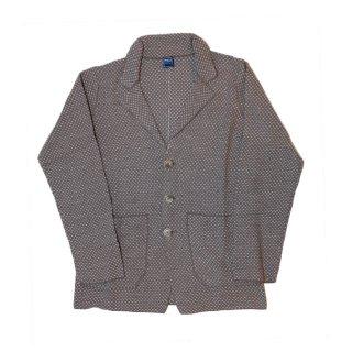 jacquard knit jacket BEIGE
