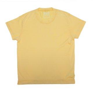 giza cotton t-shirt YELLOW