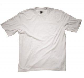 supima cotton big t-shirt WHITE