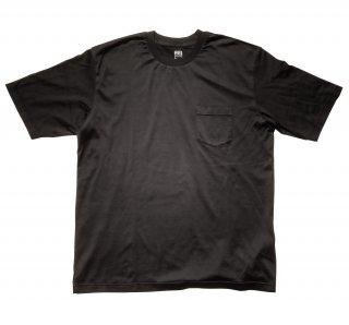 supima cotton big t-shirt BLACK