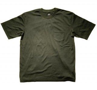 supima cotton big t-shirt KHAKI