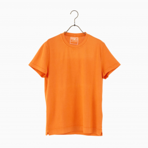 giza cotton t-shirt ORANGE