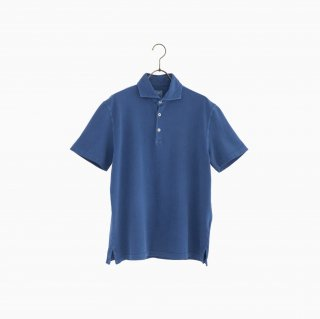 cotton polo shirt INDIGO