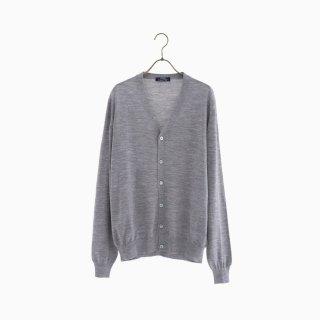 lana140 wool cardigan GREY