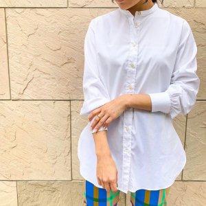 BAGUTTA per Rita band color shirt white