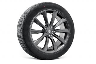 Tesla Model X 20 TST Flow Forged Tesla Wheel and Tire Package (Set of 4)