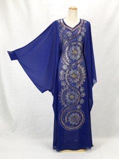 【ベリーダンス衣装】ハリージドレス Raqia Hassan(ラキアハッサン)【ブルー】