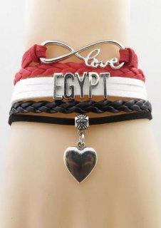 エジプト国旗ブレスレット