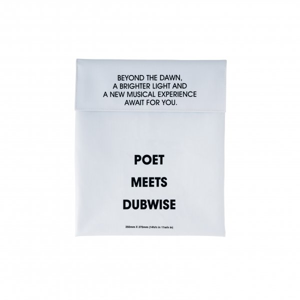 POET MEETS DUBWISE LOGO 13INC BAG
