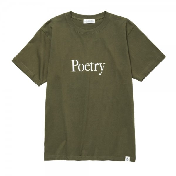 POETRY IN THE ECHO TEE<img class='new_mark_img2' src='//img.shop-pro.jp/img/new/icons8.gif' style='border:none;display:inline;margin:0px;padding:0px;width:auto;' />