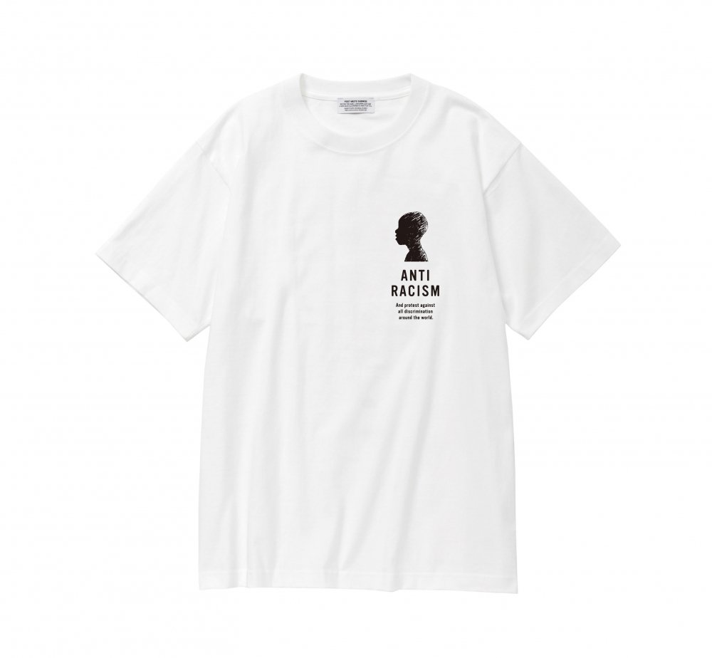 """ANTI RACISM"" Donation T Shirt<img class='new_mark_img2' src='//img.shop-pro.jp/img/new/icons8.gif' style='border:none;display:inline;margin:0px;padding:0px;width:auto;' />"