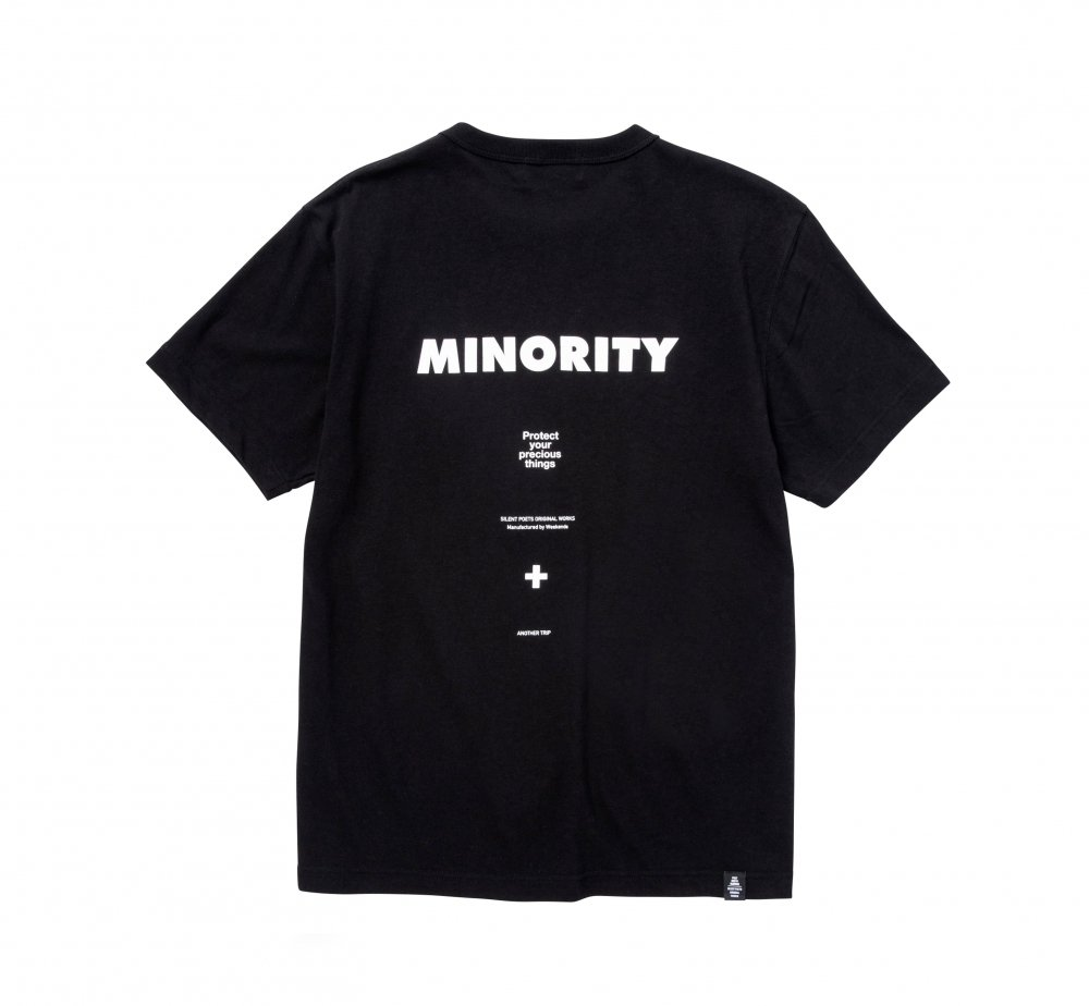 MINORITY BINDER NECK TEE<img class='new_mark_img2' src='//img.shop-pro.jp/img/new/icons8.gif' style='border:none;display:inline;margin:0px;padding:0px;width:auto;' />