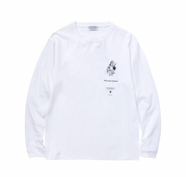 POET MEETS KING JERRY LONG SLEEVE TEE<img class='new_mark_img2' src='//img.shop-pro.jp/img/new/icons8.gif' style='border:none;display:inline;margin:0px;padding:0px;width:auto;' />