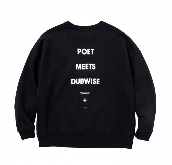 POET MEETS DUBWISE LOGO BIG SILHOUETTE SWEAT<img class='new_mark_img2' src='//img.shop-pro.jp/img/new/icons8.gif' style='border:none;display:inline;margin:0px;padding:0px;width:auto;' />
