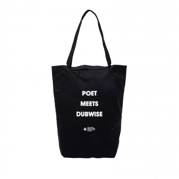 POET MEETS DUBWISE x KHISONOIO SMALL TOTE BAG<img class='new_mark_img2' src='//img.shop-pro.jp/img/new/icons8.gif' style='border:none;display:inline;margin:0px;padding:0px;width:auto;' />