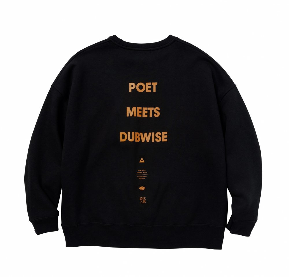 POET MEETS DUBWISE LOGO BIG SWEAT