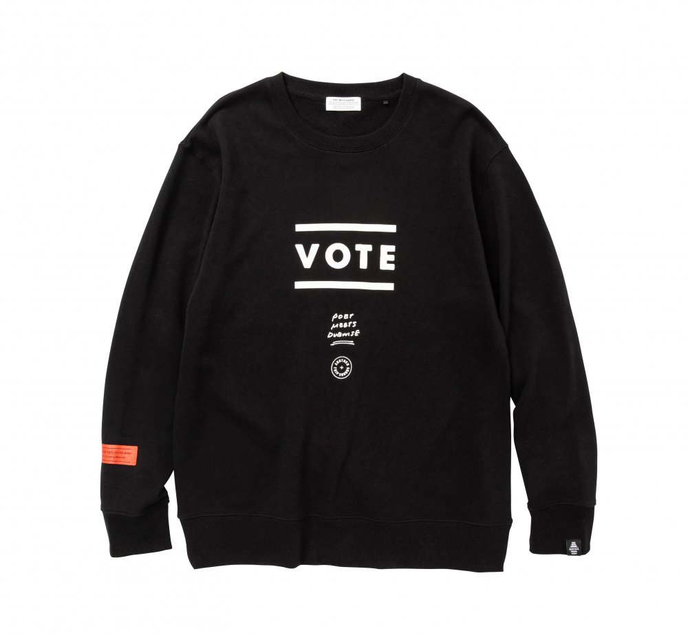 VOTE Sweat<img class='new_mark_img2' src='//img.shop-pro.jp/img/new/icons8.gif' style='border:none;display:inline;margin:0px;padding:0px;width:auto;' />