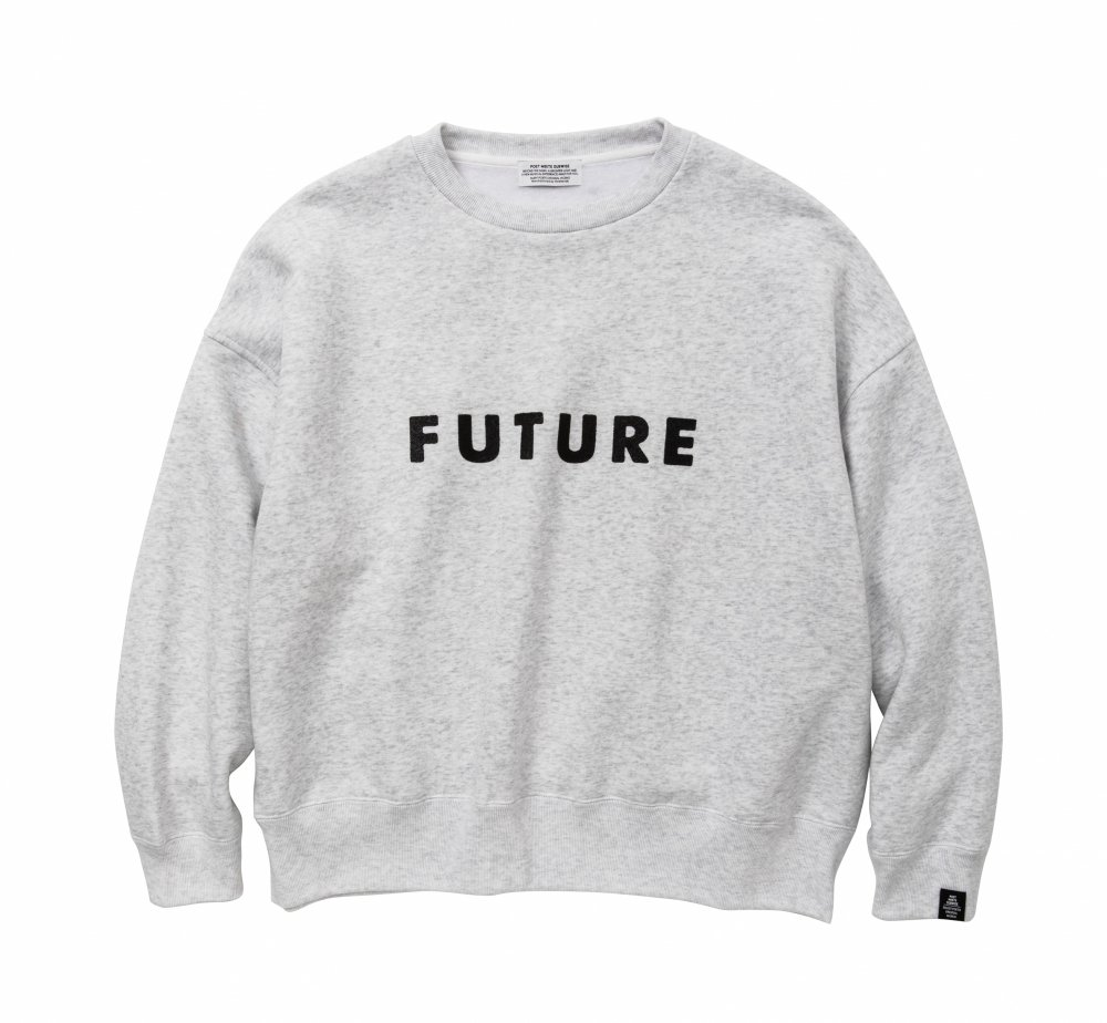 FUTURE Big silhouette Sweat<img class='new_mark_img2' src='//img.shop-pro.jp/img/new/icons8.gif' style='border:none;display:inline;margin:0px;padding:0px;width:auto;' />