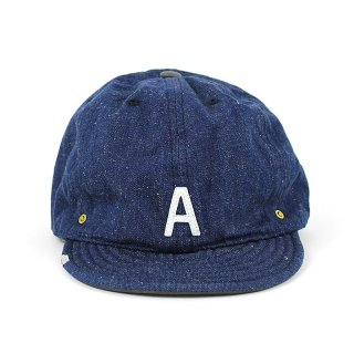 DENIM INITIAL CAPS