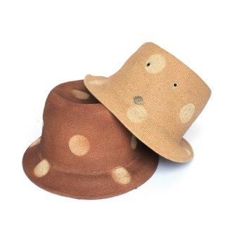 DOT BRAID PORK HAT