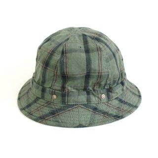 KOME HAT-Plaid-