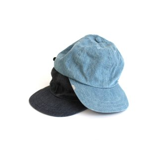 LEATHER BUCKLE CAP-BLEACHING-