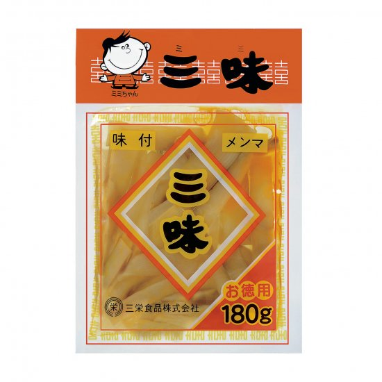 三栄味付メンマ三味180g
