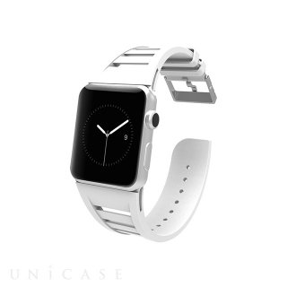 【Apple Watch 用交換バンド】 アップル ウォッチ 42mm / 44mm 用バンド Vented White