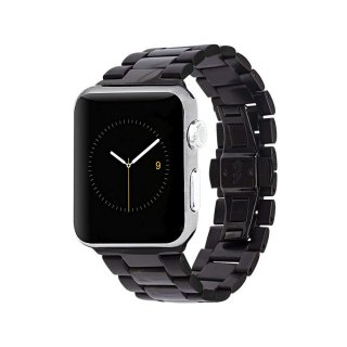 【簡単取付け あふれる高級感】Case-mate 42mm / 44mm Apple Watch Linked Watchband Black