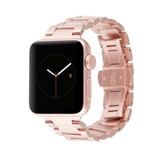 【簡単取付け あふれる高級感】Case-mate 38mm Apple Watch Linked Watchband  Rose Gold