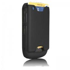 【ICカード収納ケース】 BlackBerry Curve 9300 ID Case Matte Black