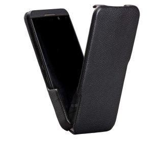 【本革を使用し縦開きケース】 BlackBerry Z10 Signature Flip Case Black