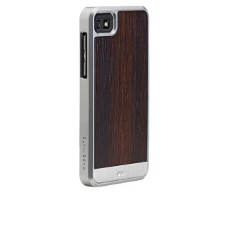 【天然木材を使ったケース】 BlackBerry Z10 Artistry Woods Case Rosewood