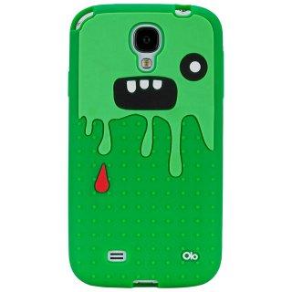 【キモかわいいモンスターのケース】 Samsung GALAXY S4 docomo SC-04E Creatures: Monsta Dark Green/Green