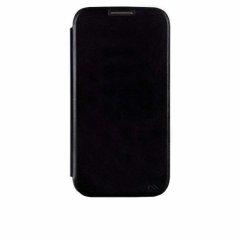 【スリムな手帳型横開きケース】 Samsung GALAXY S4 docomo SC-04E Folio Uncover Style Case Black