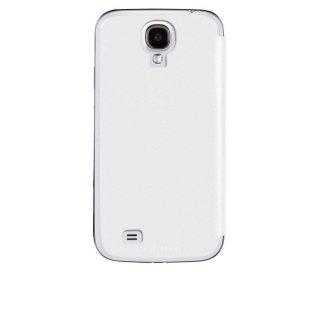 【スリムな手帳型横開きケース】 Samsung GALAXY S4 docomo SC-04E Folio Uncover Style Case White