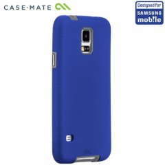 【落下等の衝撃に強いケース】 Samsung GALAXY S5 SCL23/SC-04F Hybrid Tough Case Blue/Grey