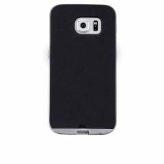 【2種の素材を使った薄いケース】 GALAXY S6 SC-05G Slim Tough Case Black/Silver