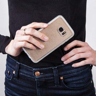 【Galaxy S7 edge ケース 透き通る 輝き】 Galaxy S7 edge SC-02H/SCV33 Sheer Glam Case Champagne シアー グラム ケース シャンパン