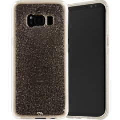【Galaxy S8 透き通る 輝き】 Galaxy S8 SC-02J/SCV36 Sheer Glam Case Champagne/Clear