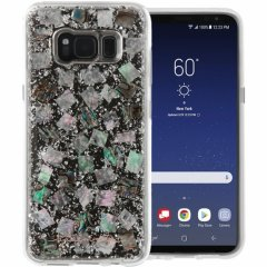 【Galaxy S8 ケース 真珠貝を使用!】 Galaxy S8 SC-02J/SCV36 Karat Case Mother of Pearl