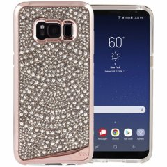 【Galaxy S8 水晶を使用】 Galaxy S8 SC-02J/SCV36 Brilliance Case Lace
