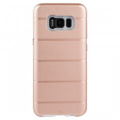 【Galaxy S8 2層構造でしっかりと保護】 Galaxy S8 SC-02J/SCV36 Hybrid Tough Mag Case Rose Gold